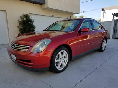 2003 Infiniti G35  for sale VIN: JNKCV51E13M023904