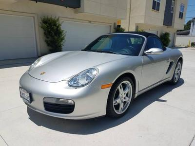 2005 Porsche Boxster  for sale VIN: WP0CA29885U711167