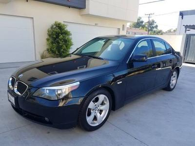 2006 BMW 525  for sale VIN: WBANE53576CK90785
