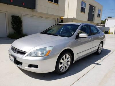 2006 Honda Accord EX-L for sale VIN: 1HGCM668X6A022416