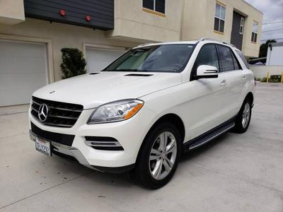 2015 Mercedes-Benz M-Class ML 350 for sale VIN: 4JGDA5JB7FA445412