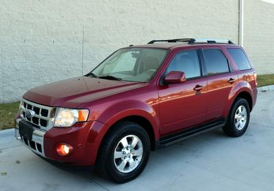 2012 Ford Escape Limited for sale VIN: 1FMCU9EGXCKB62895