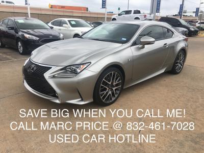 2015 Lexus RC 350 Base for sale VIN: JTHHE5BC7F5010110
