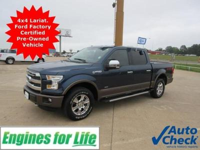 2015 Ford F-150 Lariat for sale VIN: 1FTEW1EPXFKD05017