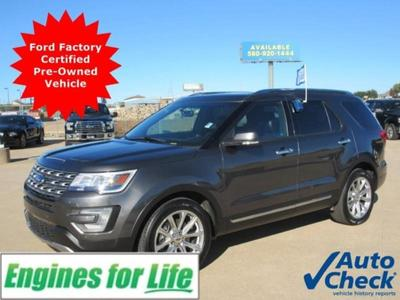 2017 Ford Explorer Limited for sale VIN: 1FM5K7F83HGC24061
