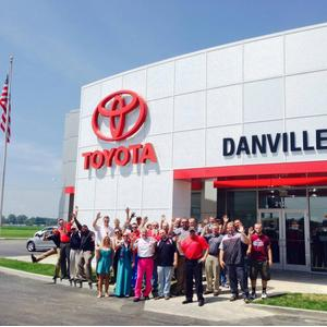 Toyota Danville Il >> Toyota Of Danville In Tilton Including Address Phone