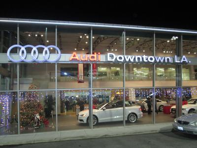 Audi Of Downtown LA In Los Angeles Including Address Phone - Audi downtown la