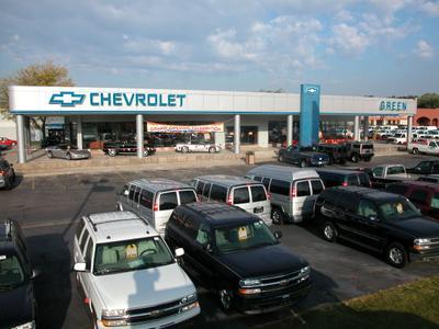 Green Chevrolet Image 5