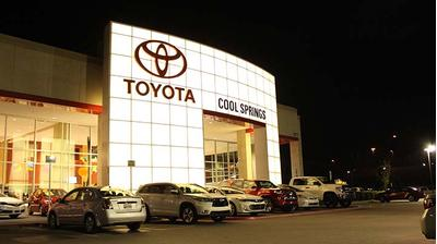 toyota of cool springs in franklin including address, phone, dealer