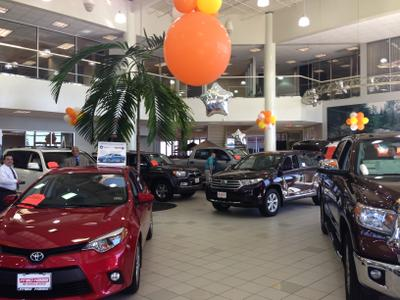 fred haas toyota world in spring including address phone dealer reviews directions a map. Black Bedroom Furniture Sets. Home Design Ideas