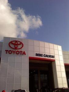 Beautiful Mike Calvert Toyota Image 1