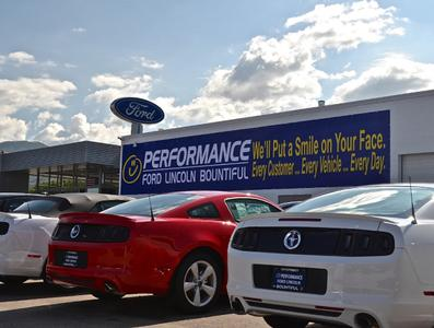 Performance Ford Lincoln Bountiful In Bountiful Including Address