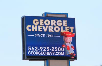 George Chevrolet In Bellflower Including Address Phone