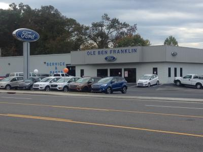 ole ben franklin motors inventory