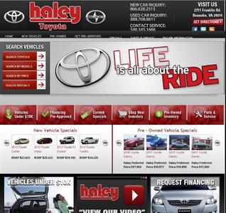 Haley Toyota Roanoke >> Haley Toyota Of Roanoke In Roanoke Including Address Phone