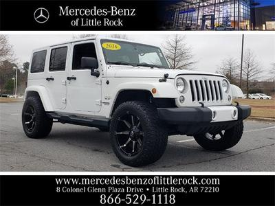 Jeep Wrangler Unlimited 2016 for Sale in Little Rock, AR