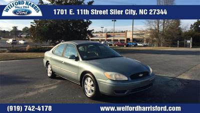 2005 Ford Taurus SEL for sale VIN: 1FAFP562X5A277998