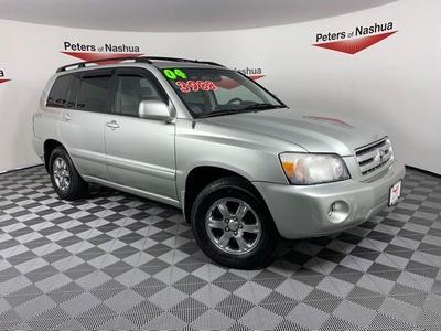 2004 Toyota Highlander  for sale VIN: JTEDP21A840024578