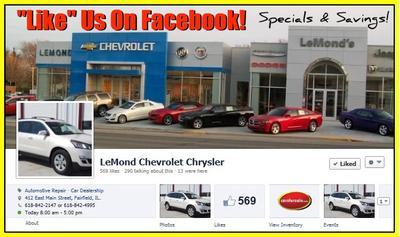 LeMond Chevrolet Chrysler Image 4