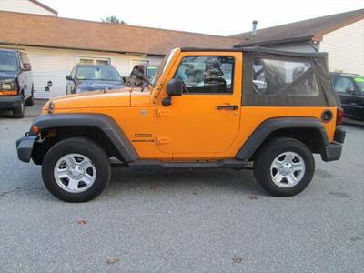 2012 Jeep Wrangler Sport for sale VIN: 1C4AJWAG6CL245226