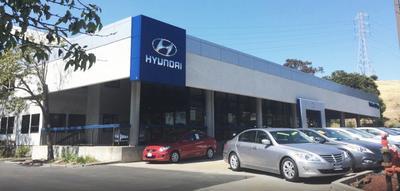 Hanlees Hilltop Hyundai Image 1
