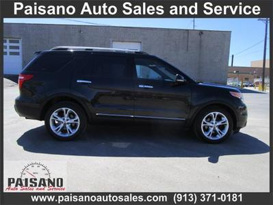 2011 Ford Explorer Limited for sale VIN: 1FMHK8F81BGA00670