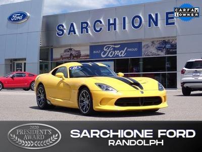 Dodge SRT Viper 2014 for Sale in Randolph, OH