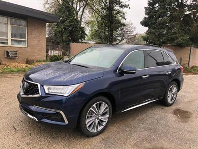 2018 Acura MDX 3.5L w/Technology Package for sale VIN: 5J8YD4H5XJL004704
