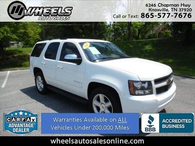2007 Chevrolet Tahoe LT for sale VIN: 1GNFC13047R246176