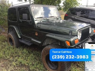 1998 Jeep Wrangler Sahara for sale VIN: 1J4FY49S0WP798962