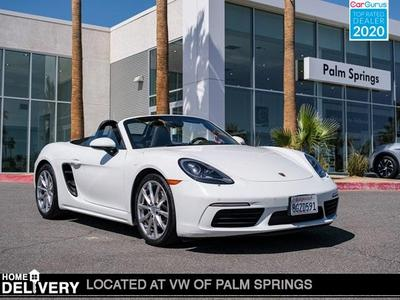 Porsche 718 Boxster 2019 for Sale in Cathedral City, CA