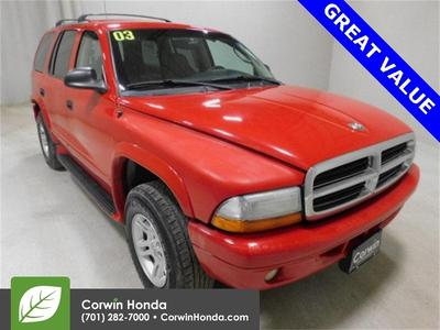 Dodge Durango 2003 a la venta en Fargo, ND