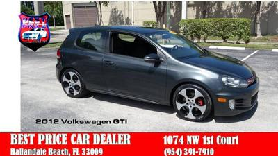 Volkswagen GTI 2012 for Sale in Hallandale, FL