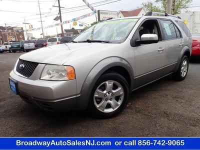 2007 Ford Freestyle SEL for sale VIN: 1FMZK021X7GA13102