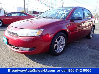 2004 Saturn Ion 3 for sale VIN: 1G8AL52F44Z122768