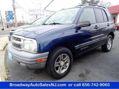 2003 Chevrolet Tracker  for sale VIN: 2CNBJ13C636952591