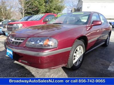 2004 Chevrolet Impala Base for sale VIN: 2G1WF52E949388381