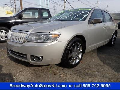 2007 Lincoln MKZ  for sale VIN: 3LNHM26T17R619605