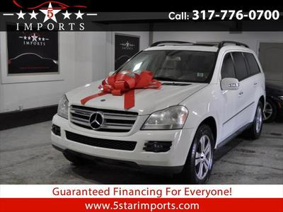 2008 Mercedes-Benz GL-Class  for sale VIN: 4JGBF71E98A437216