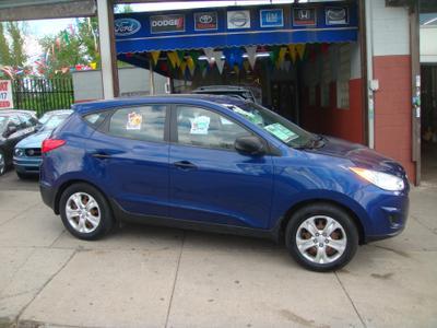 2011 Hyundai Tucson GL for sale VIN: KM8JT3ABXBU192063