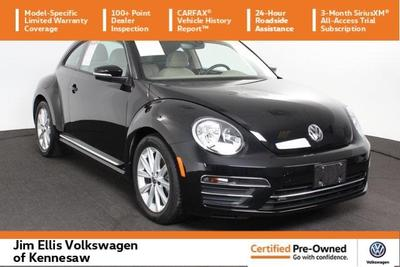 2017 Volkswagen Beetle 1.8T SE for sale VIN: 3VWJ17AT8HM604582