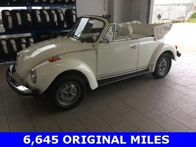1977 Volkswagen Beetle (pre-1980)