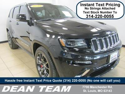 2016 Jeep Grand Cherokee  for sale VIN: 1C4RJFDJ5GC377555