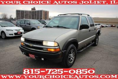 2002 Chevrolet S-10 LS Crew Cab for sale VIN: 1GCDT13WX2K212099