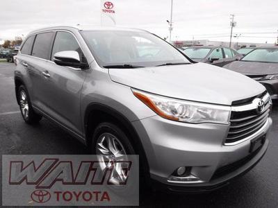 2016 Toyota Highlander Limited for sale VIN: 5TDDKRFH6GS294170