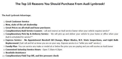 Audi Lynbrook Image 2