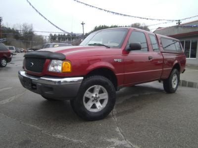 2003 Ford Ranger XLT SuperCab for sale VIN: 1FTZR15E33PB53717