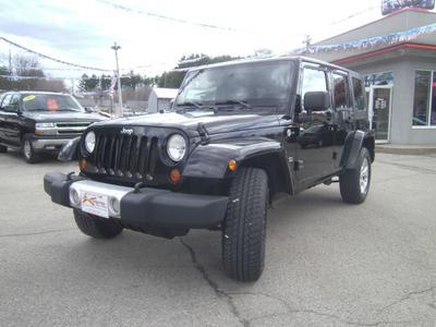 2008 Jeep Wrangler Unlimited Sahara for sale VIN: 1J4GA59178L598306