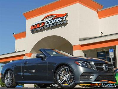 Mercedes-Benz E-Class 2018 for Sale in Bonita Springs, FL