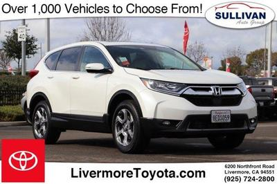 2018 Honda CR-V EX-L for sale VIN: 2HKRW2H85JH641614